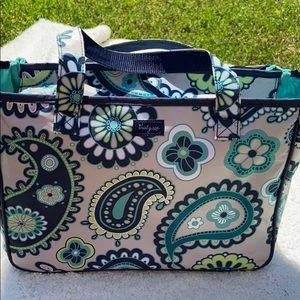 Thirty One- Paisley Day Travel cosmetic bag